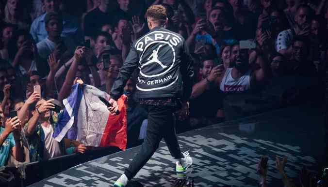 Justin Timberlake - PSG jacket